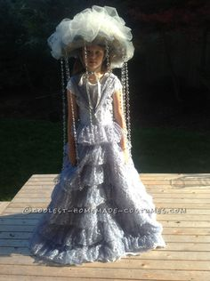 The Most Fabulous Rain Cloud Costume for a Girl...