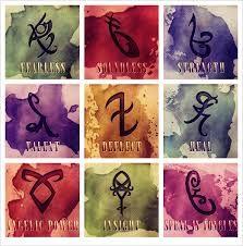 Resultado de imagem para runas e seus significados instrumentos mortais