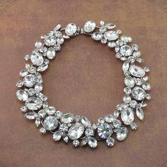 Exquisite Vintage D&E JULIANA Clear Rhinestone by Rhinestonedivas, $895.00