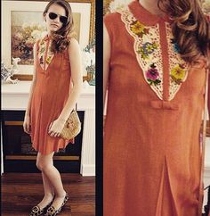 A personal favorite from my Etsy shop https://www.etsy.com/listing/221492382/free-shipping-vintage-baab-orange-casual