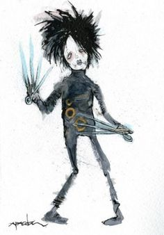 "Alex Pardee ""Edward Scissorhands"""