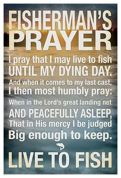 Buy the Reflective Art Fisherman's Prayer Box Art and more quality Fishing, Hunting and Outdoor gear at Bass Pro Shops. Fishing Signs, Bass Fishing Lures, Fishing Quotes, Fishing Life, Best Fishing, Trout Fishing, Fishing Stuff, Funny Fishing Memes, Fishing Crafts