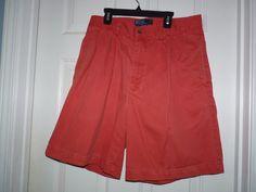 MEN'S 33 Vintage 90's RED POLO RALPH LAUREN Pleated shorts amazing condition eu  #POLORALPHLAURENBLUELABEL #CHINOSHORTS