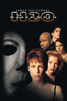 Halloween H20: 20 Years Later Poster Artwork - LL Cool J, Joseph Gordon-Levitt, Jamie Lee Curtis - http://www.movie-poster-artwork-finder.com/halloween-h20-20-years-later-poster-artwork-ll-cool-j-joseph-gordon-levitt-jamie-lee-curtis/