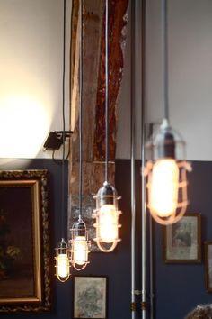 #Lighting #industrial #loft #interior #design