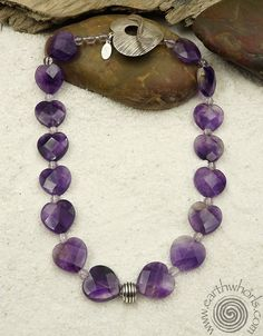 93a3e021ee0 Amethyst and sterling silver