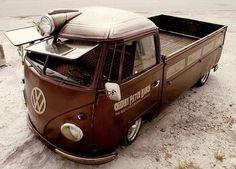 Visit The MACHINE Shop Café... ❤ Best of VW @ MACHINE ❤ (VW Single Cab Flat Bed)