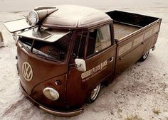 Visit The MACHINE Shop Café... ❤ Best of VW @ MACHINE ❤ (VW Single Cab Flat Bed)