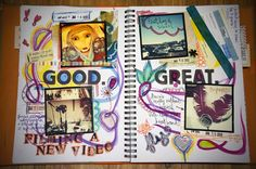 Samantha Kira's smashbook- using instagram photos!!! I want to do this