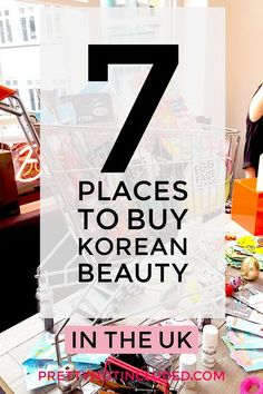 7 Places to Buy Korean Beauty in the UK - Both online and in-store. From sheet masks to makeup, discover the innovative brands that  the Asian market have to offer without the hefty shipping fees.