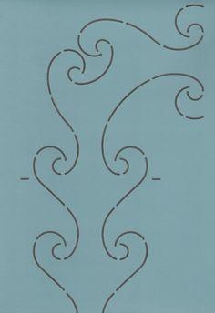 """Zion 85 4"""" - The Stencil Company"""