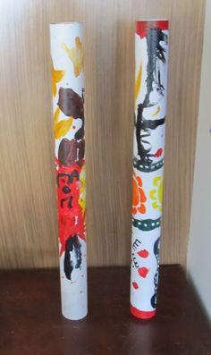 Boy Mama: Do You Didgeridoo? Making Your Own Didgeridoo Aboriginal Education, Aboriginal Culture, Aboriginal Art, Indigenous Education, Australia For Kids, Australia Crafts, Art For Kids, Crafts For Kids, Naidoc Week