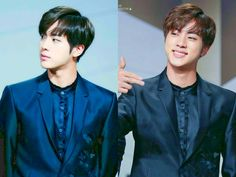 Him and Jungkook really rock that hair style