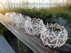 Starfish Candle Centerpieces beach party