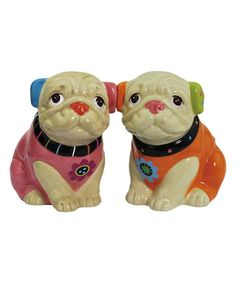 Another great find on #zulily! Cozy Pugs Salt & Pepper Shakers #zulilyfinds