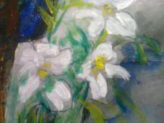 """Soñando con flores blancas"""