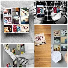turn instagram pictures into magnets.  Cute gifts!