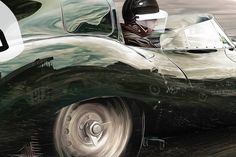 Pencil, Oil and Marker Artwork, finished in Photoshop:    Mike Hawthorn at the wheel of his 'Merceater' #dtype in the early stages of his victorious 1955 #LeMans race. The race featured an intense battle between the 3 main constructors; Hawthorn in the Jaguar, Fangio's Mercedes & Castellotti's Ferrari (both of whom you can see in the D-Types reflection).  #XKD505 #dtype #dtypejaguar #jaguarartwork #jaguarposter #jaguarmerchandise #jaguarcarart #jaguardtype #jaguarheritage #jaguarclassic Le Mans, Marker, Victorious, Ferrari, Reflection, Battle, Pencil, Photoshop, Butterflies