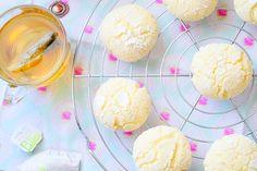 """Biscuits au citron """"Lemon Crinkles"""" · Aux delices du palais"""