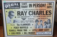 Theater Chicago, Stage Show, Ray Charles, Orchestra, The Neighbourhood, Musicals, Memories, Cool Stuff, Poster
