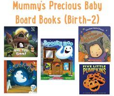 Halloween Board Books for Mummy's Precious Baby (Birth-2)