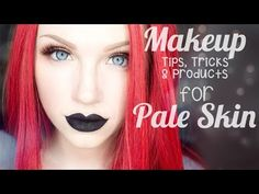 My Top 25 Makeup Tips, Tricks & Products for Pale Skin I LOVE Glam&Gore makeup tutorials! This video is the best!