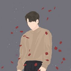 cr.drawonging Boy Illustration, Character Illustration, Character Art, Character Design, Wattpad Book Covers, Boys Wallpaper, Nature Drawing, Overlays, Japanese Graphic Design
