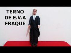 DIY - Como fazer um Fraque de eva para o boneco Ken - YouTube