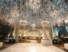 Nabila and reshwara weddings reception venue at the ritz carlton daniel and eriscas wedding reception venue at hotel mulia jakarta organised by mke wedding organizer decoration by lotus design photo and video by junglespirit Gallery