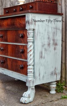 Number Fifty-Three: Antique Two-Toned Dresser