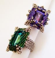 Sapphire and Amethyst, pattern