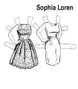 ✄ Sophia Loren clothes