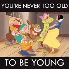 A little wisdom from Snow White...