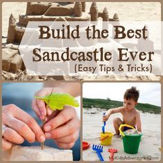 Want to create truly awesome sand castles with your kids? These 4 simple secrets will help your family achieve sand castle success every tim...