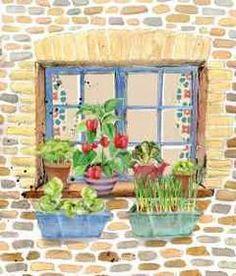 Window Box Spring Garden Huertos