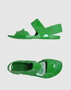 Green Marni sandles