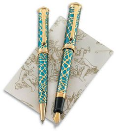The Metropolitan Museum of Art: Writing Instruments  Tiffany Pine Bough Fountain Pen