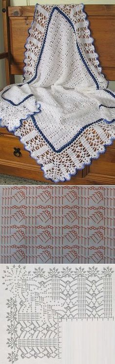 * just finished and it is so pretty! Ravelry: Project Gallery for Sweet Dreams pattern by Terry Kimbrough. Crochet Afghans, Crochet Blanket Patterns, Baby Blanket Crochet, Knitting Patterns, Crochet Blankets, Crochet Chart, Crochet Motif, Crochet Stitches, Knit Crochet