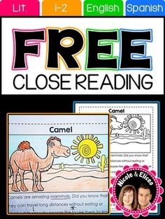 PRODUCT SAMPLERWe're giving away this sampler for free for you to try out one of our close reading passages with your students. If you like this sampler, you might also like our close reading packsClose Reads: Ocean AnimalsClose Reads: Jungle AnimalsClose Reads: Forest AnimalsClose Reads: Desert AnimalsTERMS OF USEThis resource was designed and copyrighted by Nicole Sanchez.