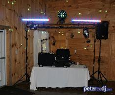 Wedding Kimberly And Giovanni At Wolf Oak Acres Oneida 6 9 18 Dj Setupwedding