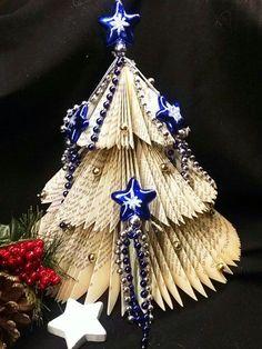 DIYcreation-Weihnachtsbaum gefalten 1