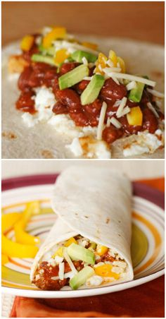 Tex-Mex Egg White Breakfast Wrap