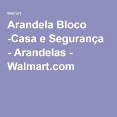 Arandela Bloco -Casa e Segurança - Arandelas - Walmart.com