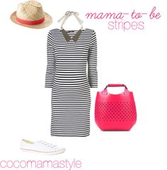 Daily dose: mama-to-be stripes