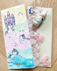 Unicorn Cards, Lawn Fawn, Card Sketches, Stampin Up Cards, Blue Bird, Mermaids, Making Ideas, My Friend, Coloring Pages