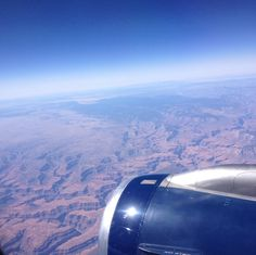 Photo From Plane in Arizona flying over Grand Canyon. Taken By Me: (Jenna Becker)