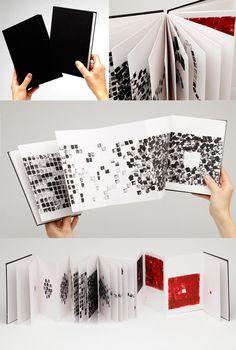 A concertina book exploring Bauhaus teachings - Anna Kendler