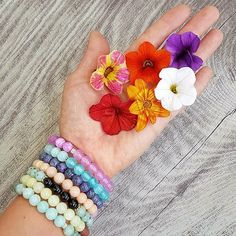 Nature's gifts... 🌻🌼🏵🌺🌹🌷🌸 Gemstone Jewelry, Lime, Gemstones, Photo And Video, Bracelets, Gifts, Instagram, Bangles, Lima