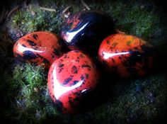Mahogany Obsidian - The Mirroring Stone - for seeing your reflection or helping mirror back to others - Sage Goddess
