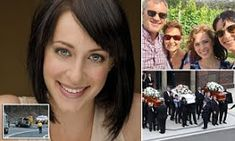 Home and Away actress Jessica Falkholt has her life suppport switched off just one day after the funeral of her parents and sister following horror Boxing Day crash that shattered a family
